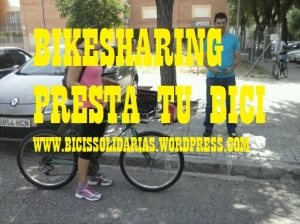 Intercambio de Bicis Red BikeSharing Presta tu bici