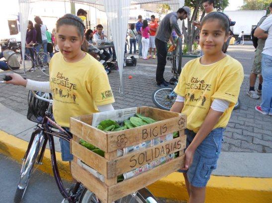 bicis solidarias mexico