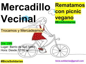 Mercadillo Vecinal 29N