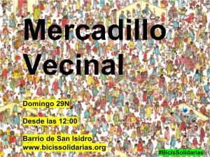 Mercadillo Vecinal Madrid 29N