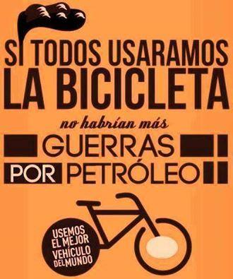 bici petroleo