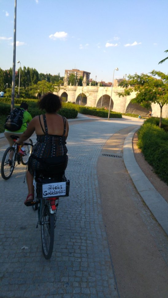 prestamo de bicis solidarias
