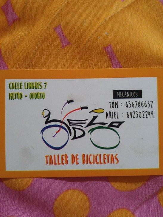 taller bicis calle linares